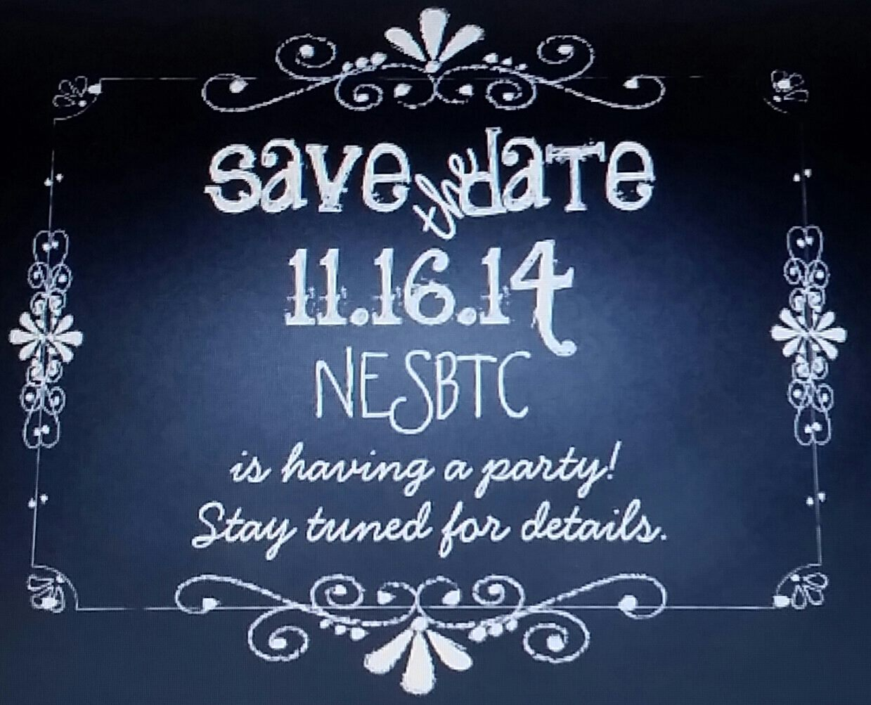 Save The Date Fall 2014